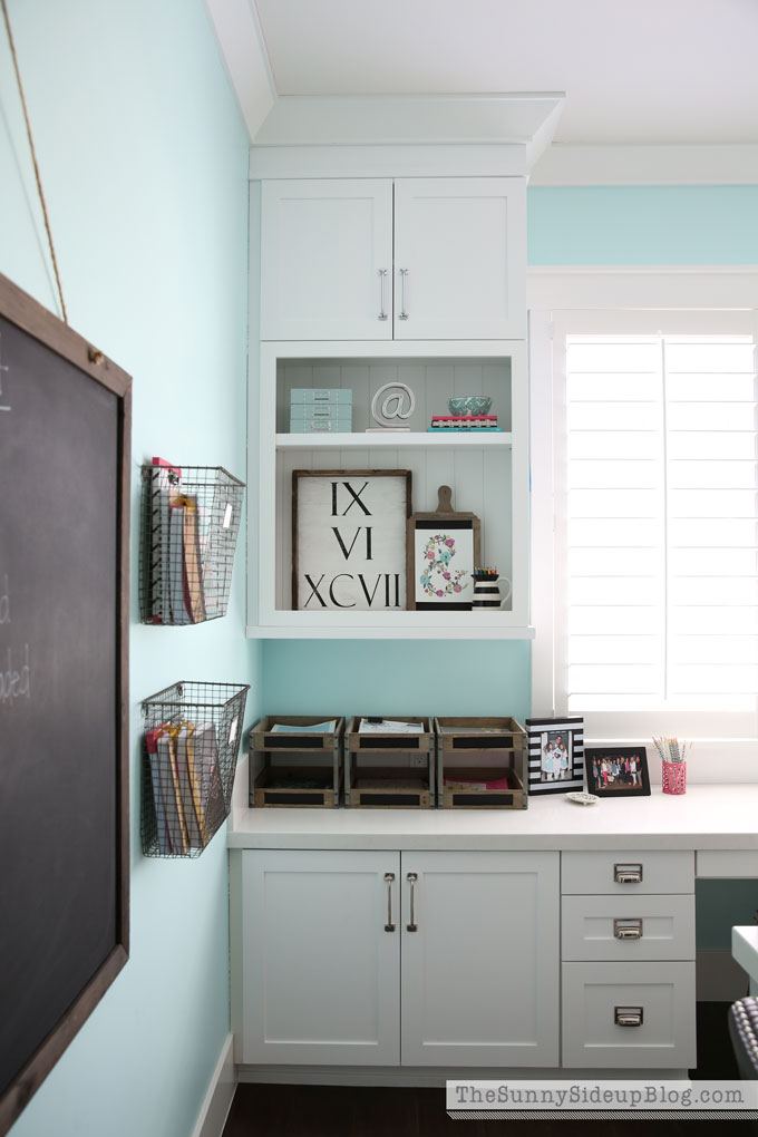 decorated-office-craft-room-7 Sunny Side Up