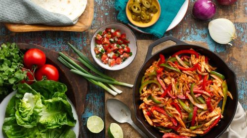 BBQ Chicken Fajitas - Betty Crocker