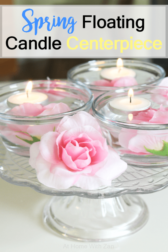 Spring Floating Candle Centerpiece