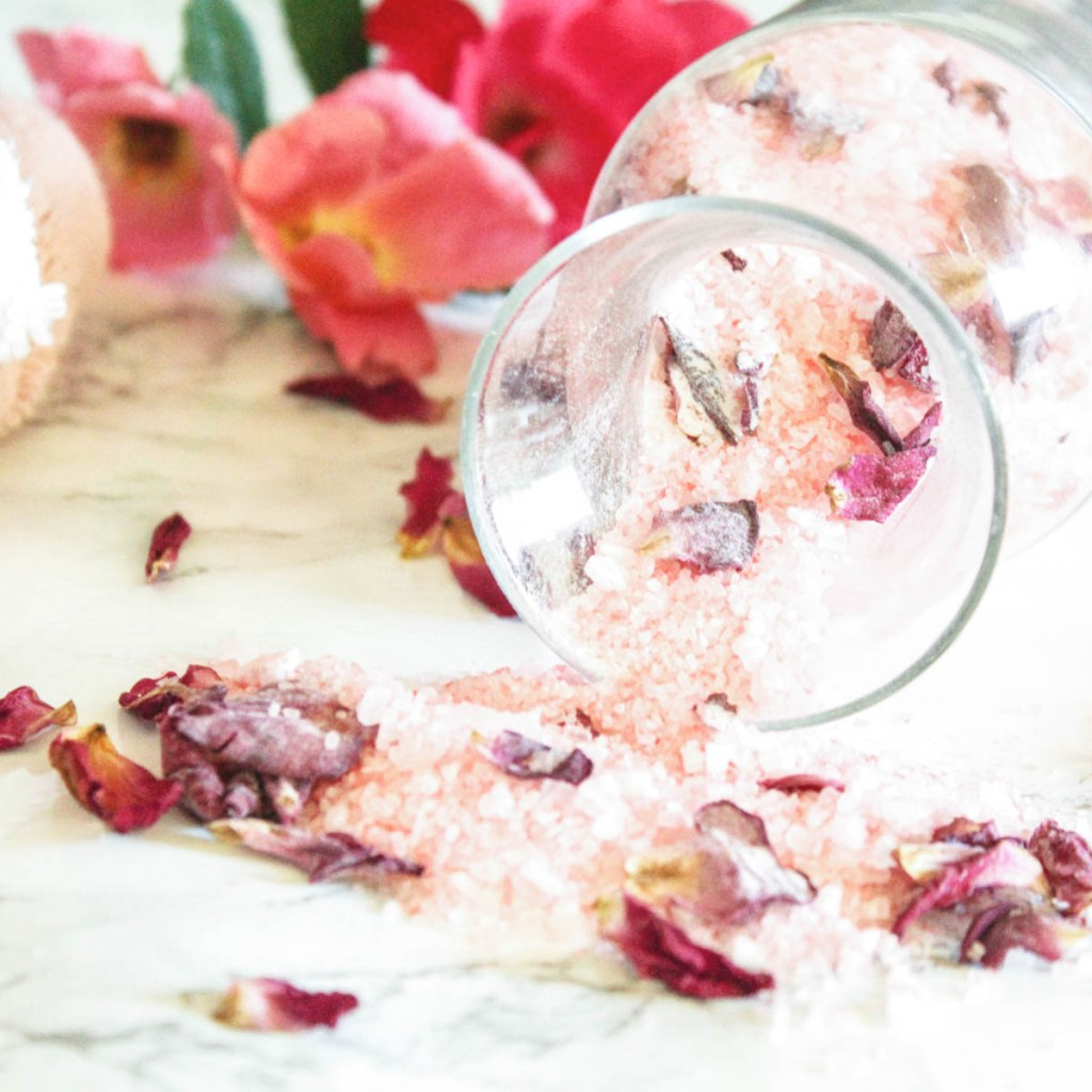 Rose Petal Bath Salts