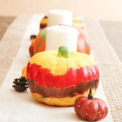 Painted Pumpkin Feature