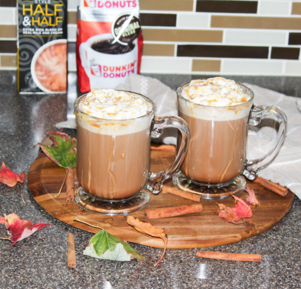 Fall Kitchen - Dunkin' Donuts Coffee - Caramel Mocha Recipe With Dunkin' Donuts Coffee - At Home With Zan-
