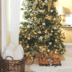 Christmas tree - At Home With Zan