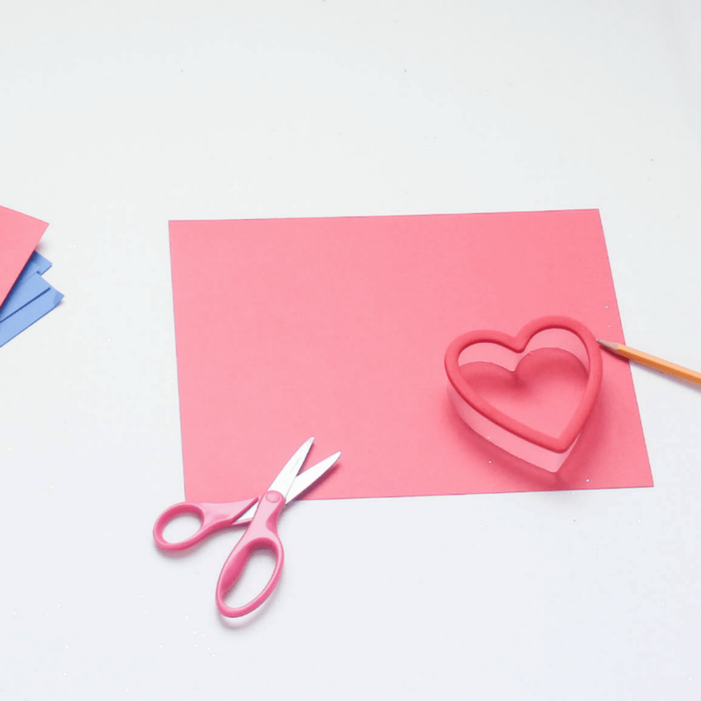 DIY Valentine's Heart Cards - For Kids Crafts - DIY - Valentine's - Cards - At Home With Zan
