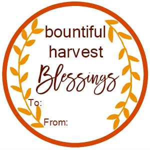 Harvest Blessings New