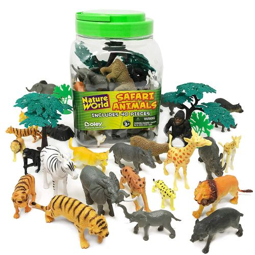 Animal Collectibles - Holiday Gift Guide for 3-5 Year Olds - At Home With Zan