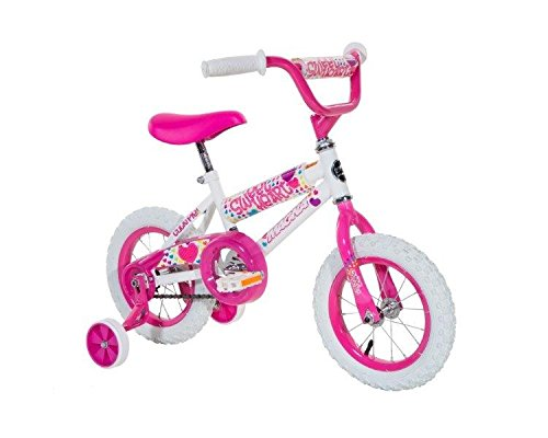 Girls Bicycle with Training Wheels - Holiday Gift Guide for 3-5 Year Olds - At Home With Zan