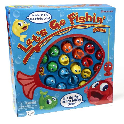 Go Fish Game - Holiday Gift Guide for 3-5 Year Olds - At Home With Zan-