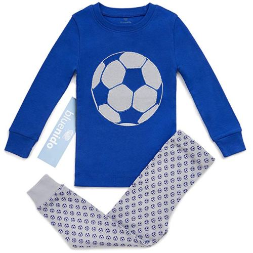 Pajama Set for Boys - Holiday Gift Guide for 3-5 Year Olds - At Home With Zan