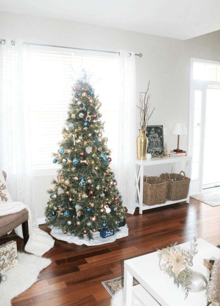 Holiday Home 2018 - Holiday Decor - Tree - At Home With Zan-