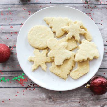 Holiday Shortbread Cookies - At Home With Zan-