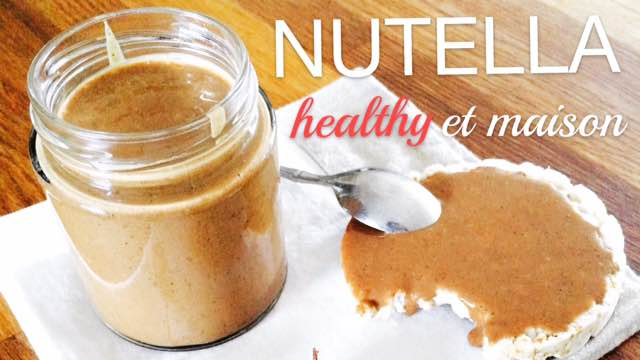 Nutella maison, healthy et vegan