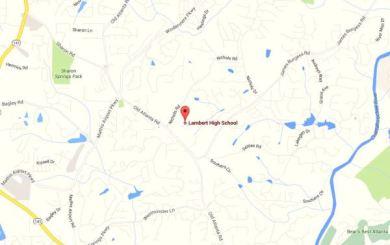 Lambert-High-School-Map-Location-Suwanee-GA