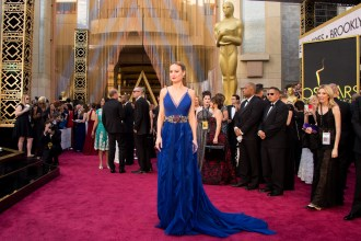 Oscar®-nominee Brie Larson arrives at The 88th Oscars® at the Dolby® Theatre in Hollywood, CA on Sunday, February 28, 2016.