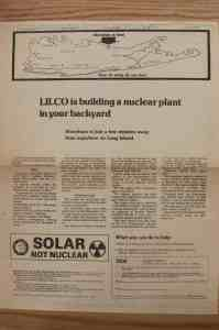 Oil Heat Institute advertises against nuclear