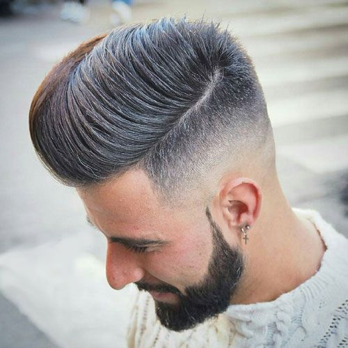 20 Best Comb Over Fade Haircut – How to Ask Barber And How to Style of 6 by April
