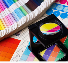 graphic design and offset printing