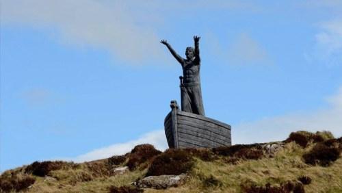 Manannan Mac Lir statue stolen