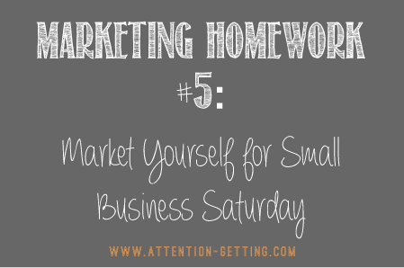 marketing ideas small business saturday