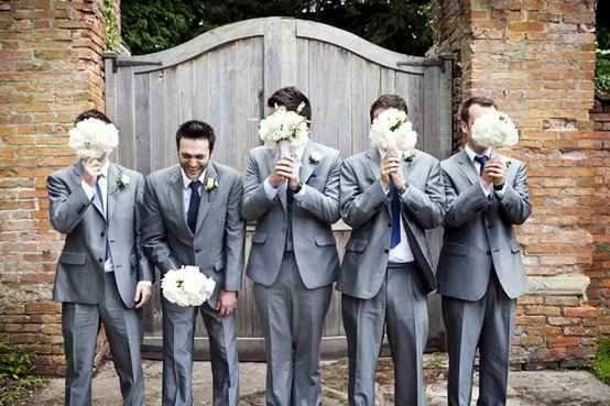 Funny wedding men