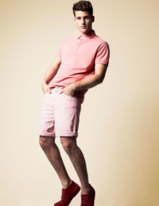 Guy in pink