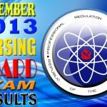 "NURSING BOARD EXAM RESULTS ""NLE December 2013″ Alphabetical List of Passers"