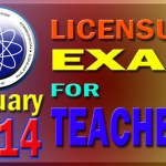 LET Exam Results January 2014 (Teachers Board Exam) List of Passers