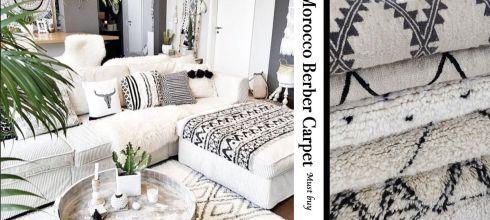 摩洛哥必買!伯伯爾地毯 berber carpet 歐美觀光客瘋搶的手工藝術家飾品