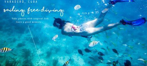 古巴 世界十大最美沙灘 Varadero 帆船 浮潛 拍海底寫真 與熱帶魚共舞