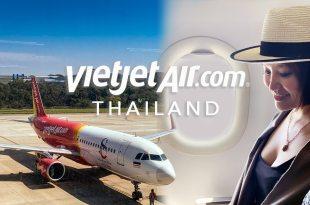 泰越捷航空 台中直飛曼谷BKK A320搭乘體驗