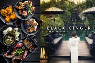 前衛與泰菜的融合 Black Ginger 泰國普吉島 劇場式用餐體驗 經典泰南料理