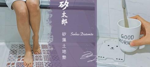 【限時團購】矽太郎矽藻土地墊-日本頂級材料 獨家技術超吸水 新花磚顏色設計 森呼吸