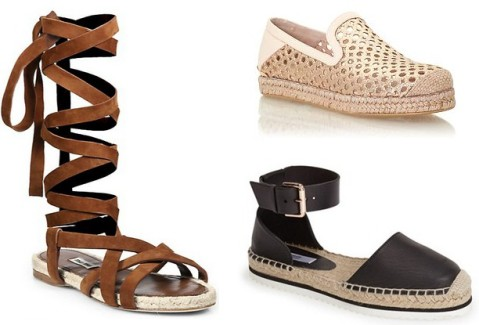 Twelve Espadrilles For The Season
