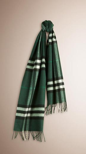 Burberry Scarf - Dark Forest Green