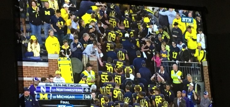 Over The Weekend :: Homecoming – Michigan vs Northwestern