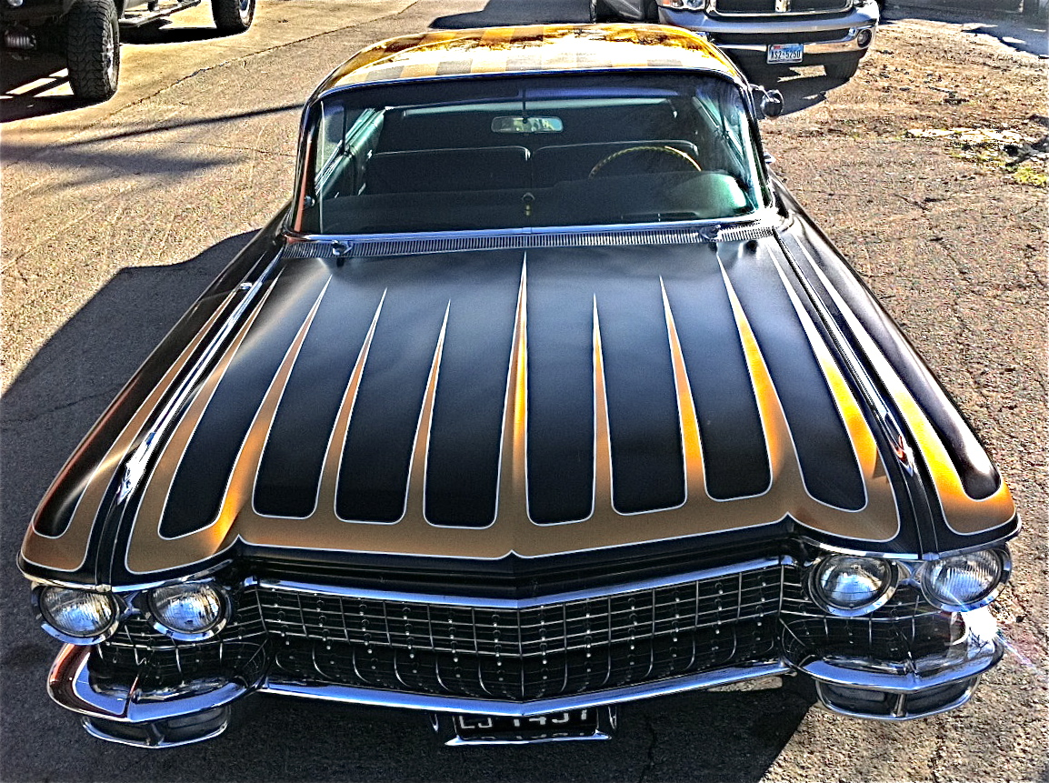 darren s very nice 1960 cadillac coupe custom atx car pictures real pics from austin tx. Black Bedroom Furniture Sets. Home Design Ideas