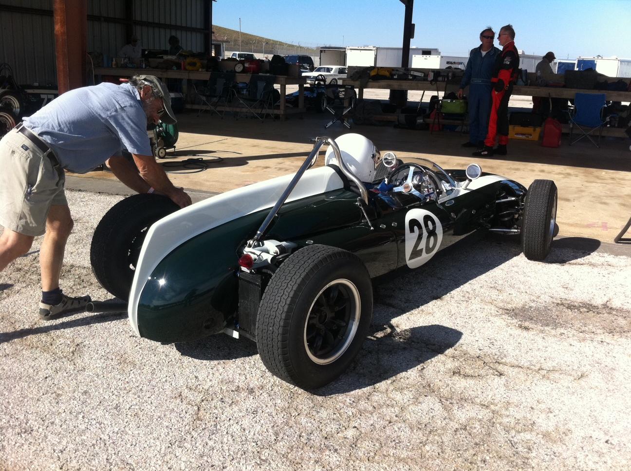 c 1960 Cooper T56? Formula Junior Race Car at Last Weekends Races ...