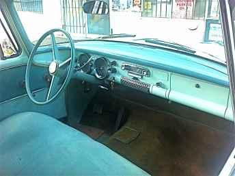 1955 Studebaker for Sale.Interior
