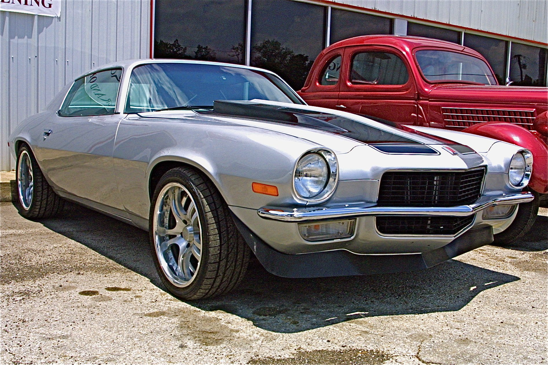 500 Hp 1972 Camaro Resto Mod For Sale At Motoreum In Nw