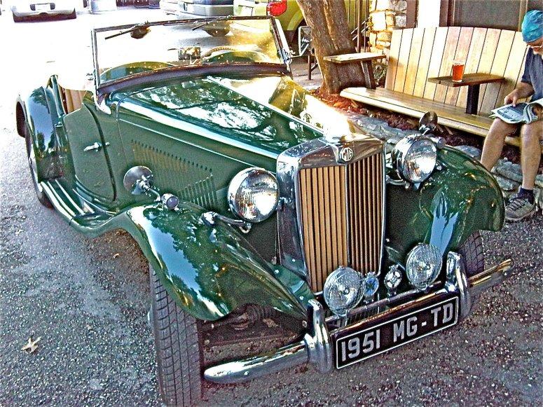 1951 MG TD in Austin TX
