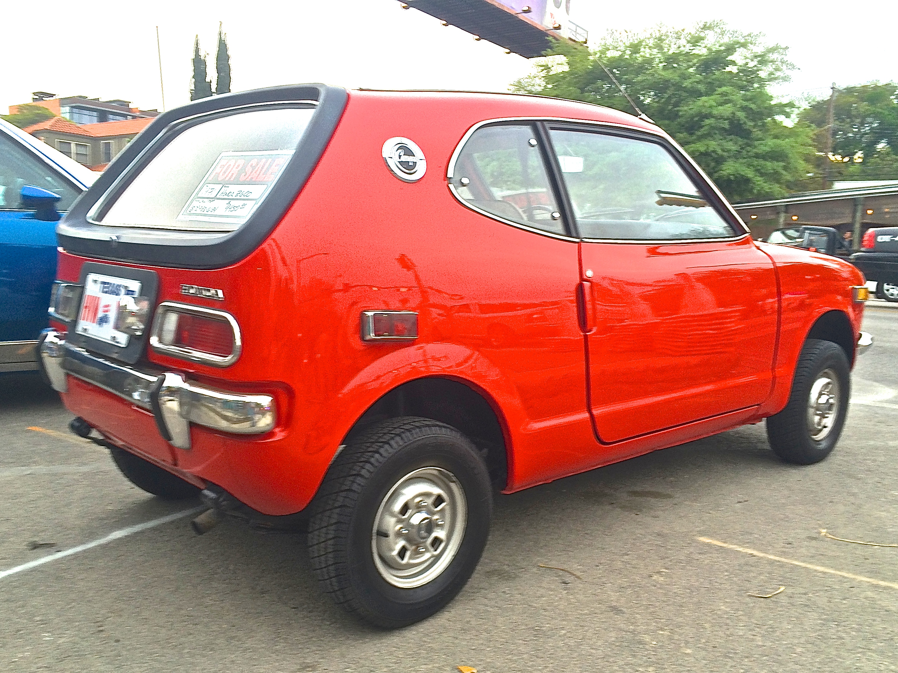 1971 Honda Z600 For Sale | ATX Car Pictures | Real Pics from Austin TX Streets, Backyards & Garages