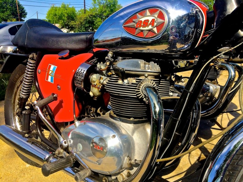 1968 BSA in Austin TX engine