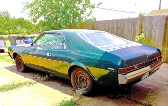 1968/9 AMC Javelin Fastback Coupe in N. Austin rear