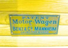 Patent Motorwagen in Austin TX plaque