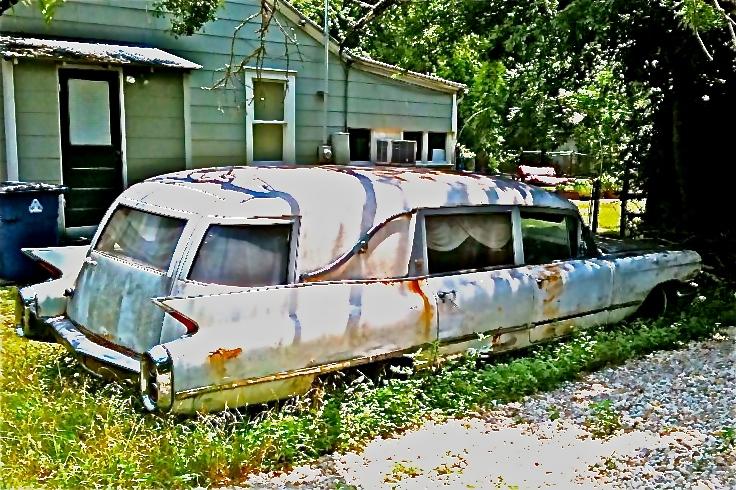 1960 Cadillac Hearse Austin TX