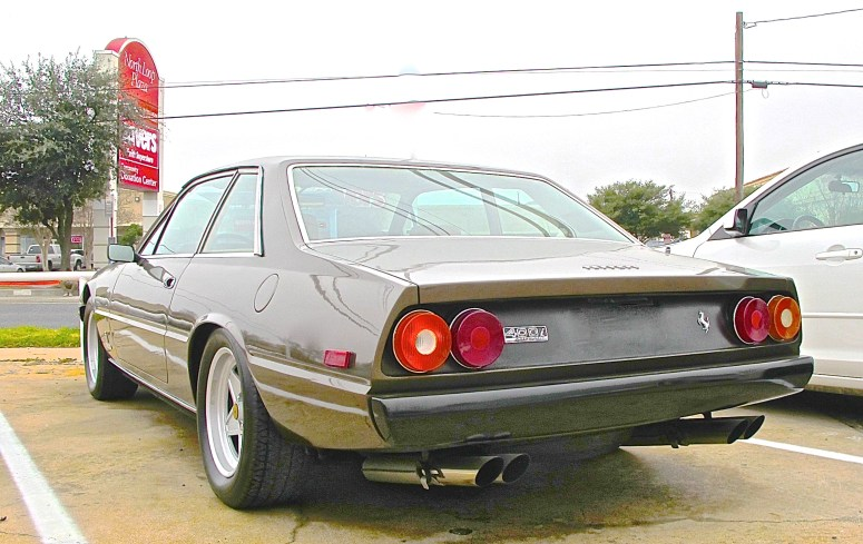 Ferrari 400i for sale in Austin TX rear vuew
