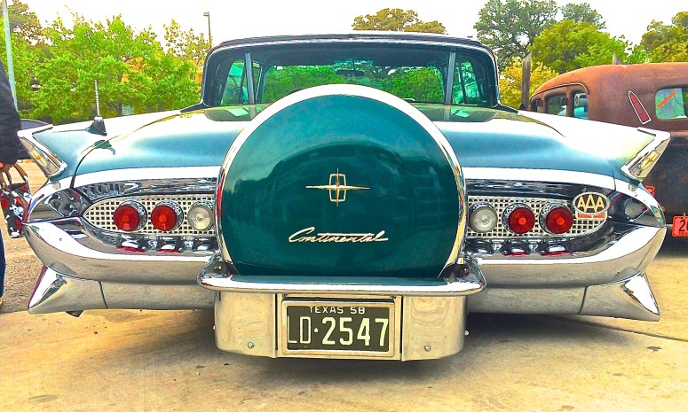 1958 Lincoln Continental Coupe Austin TX rear
