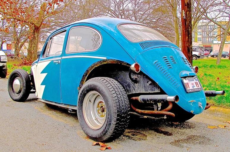 Modified Volkswagen in Austin TX rear view