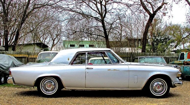 1962 Studebaker GT Hawk, Austin TX side