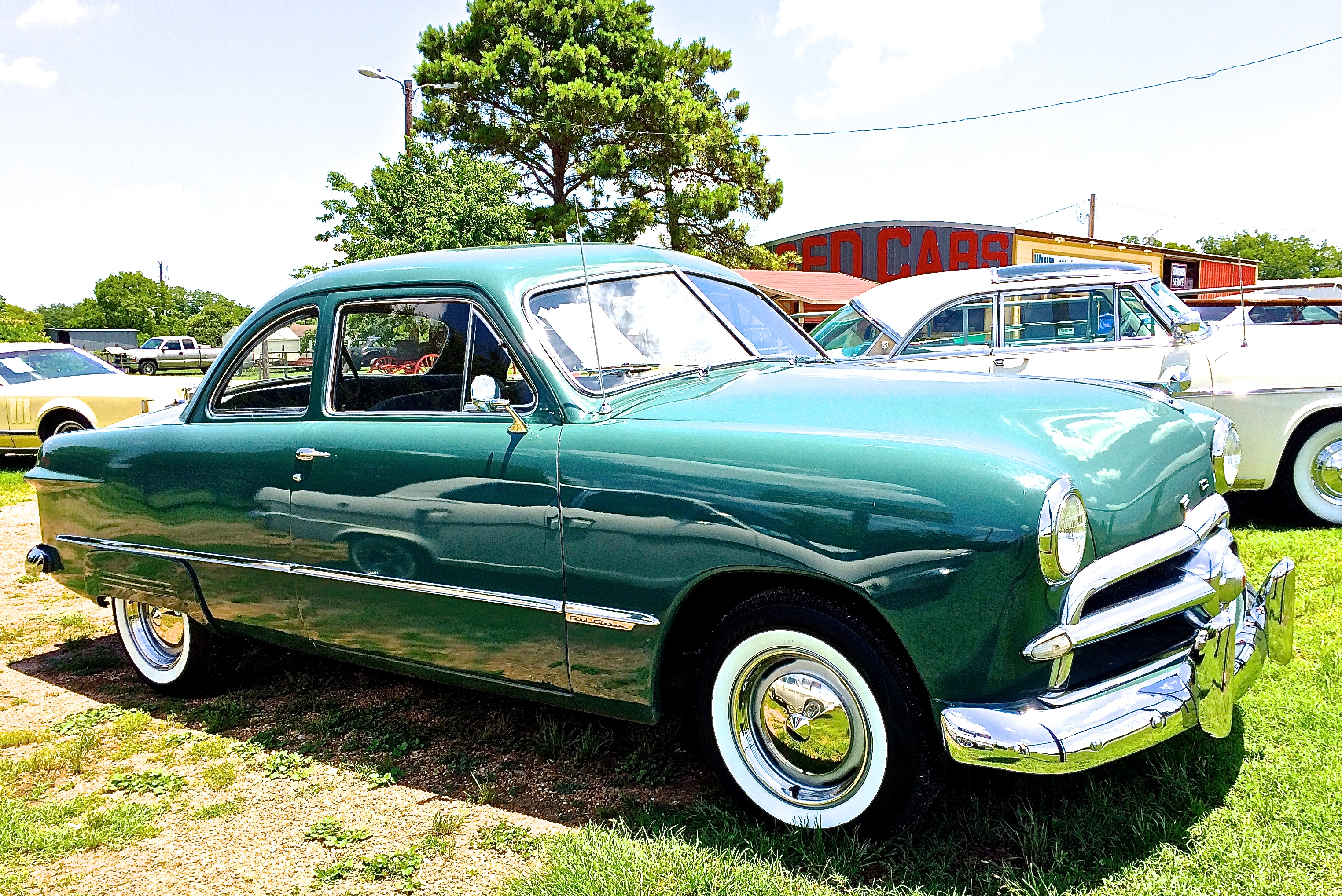 1949 Ford Club Coupe Atx Car Pictures Real Pics From